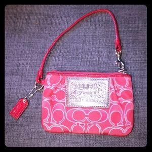 Coach poppy change purse